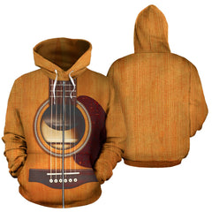 LIMITED EDITION GUITAR ZIP UP HOODIE