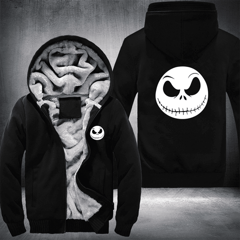 GLOW IN THE DARK JACK FLEECE HOODIE