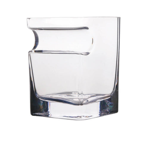 Best Whiskey Glass Tumbler with Cigar Holder 320ml Old Fashioned Glass for Scotch Bourbon Irish Jameson Whisky