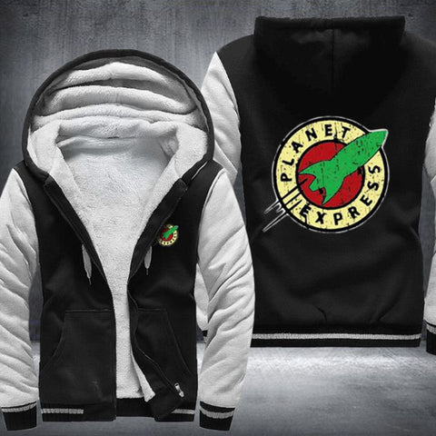 PLANET EXPRESS HOODIE FLEECE JACKET