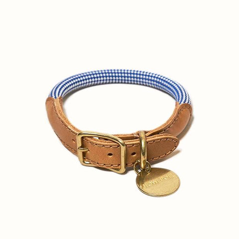 Howlpot We Are Tight: Rope Dog Collar| Purple Fiction