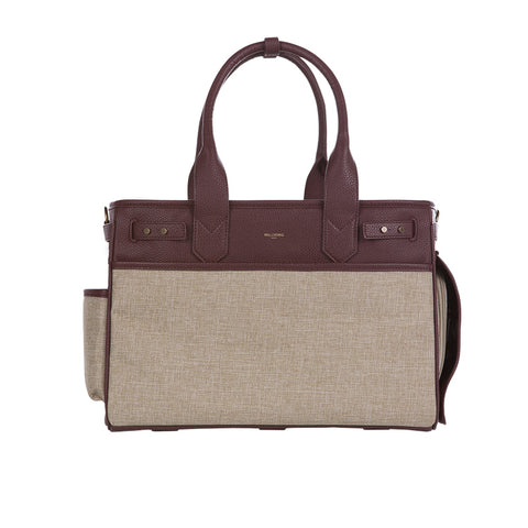 Milliong Julia Tote Medium | Burgundy - FURRPLAY