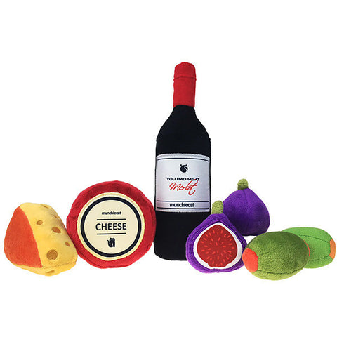 Munchiecat Catnip Wine, Fruits & Cheese Set - FURRPLAY