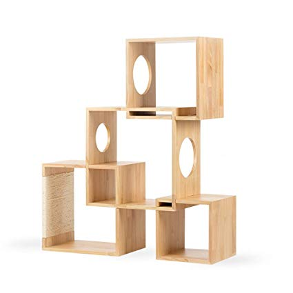 Pidan Modular Cat Tree | Geometrical 4 Squares - FURRPLAY