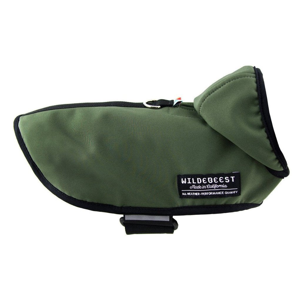 All Weather Dog Jacket in Olive - FURRPLAY