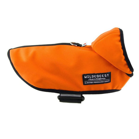 WILDEBEEST | All Weather Dog Jacket in Orange