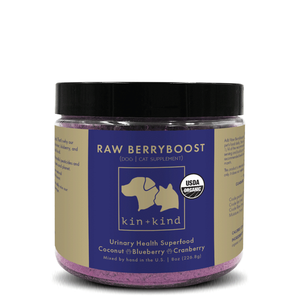 kin + kind Raw BerryBoost Dog|Cat UTI Support - FURRPLAY