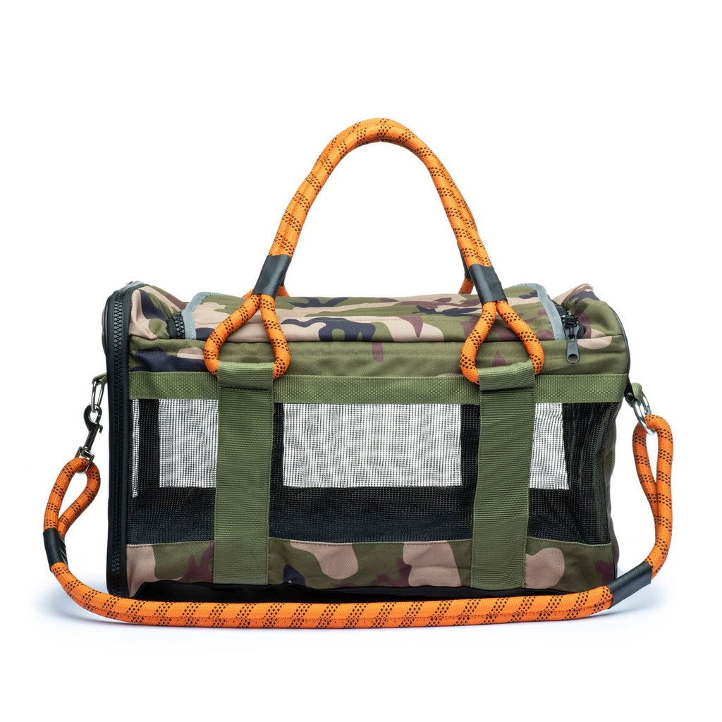 Out-of-Office Dog Carrier Camo - FURRPLAY