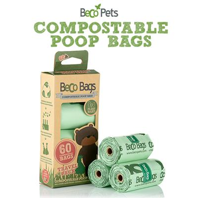 Home Compostable Poop Bags | Unscented | 60 - FURRPLAY