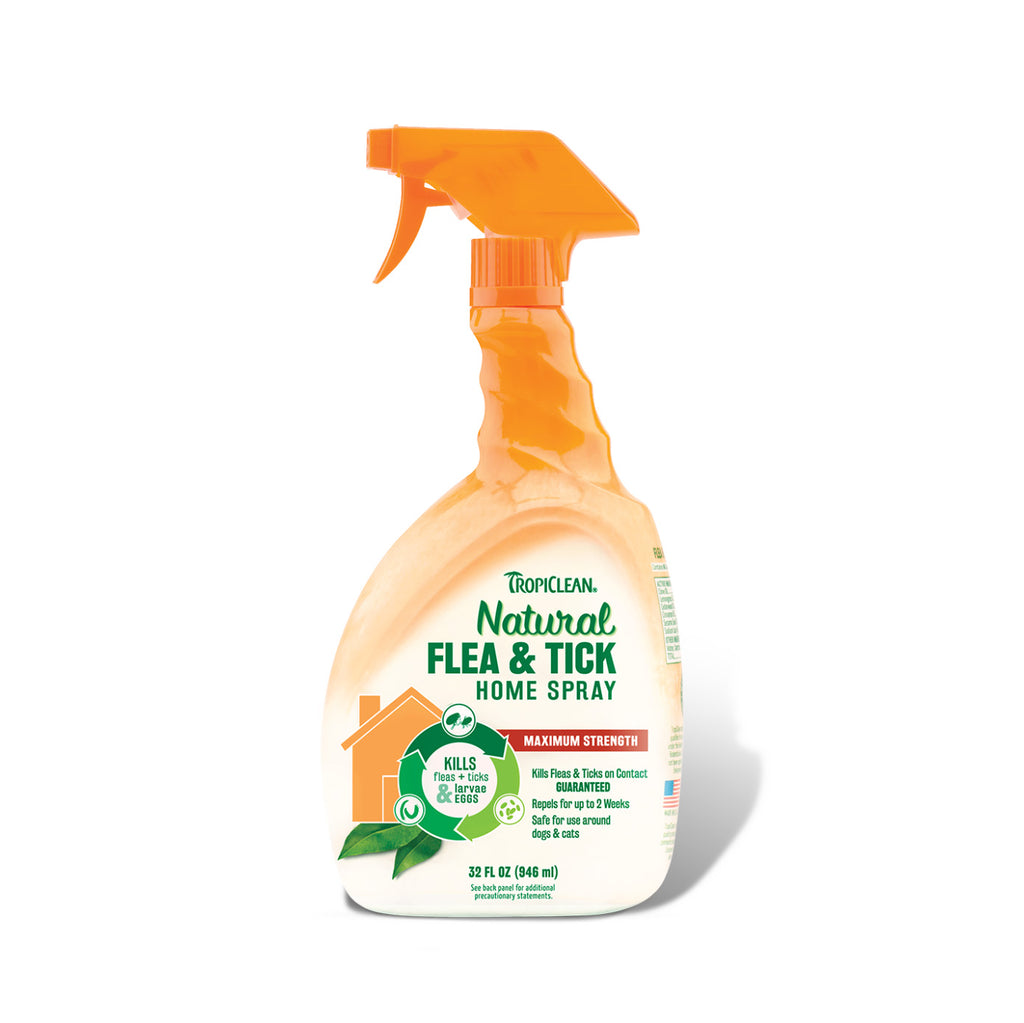 TropiClean Natural Flea & Tick Spray For Home - FURRPLAY