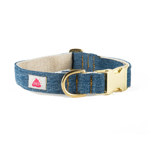 Mom Jeans Collar in Medium Wash - FURRPLAY