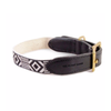 See Scout Sleep Out Of My Box Leather Dog Collar | Black - FURRPLAY