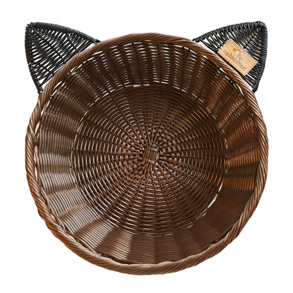 NEKKOMORI | Cat Basket - Dark - FURRPLAY