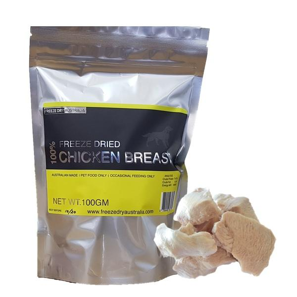 [Buy 2 Get 1 Free] Freeze Dried Diced Chicken Breast | Treats - FURRPLAY