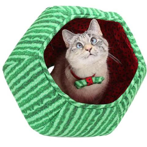 The Cat Ball | Watermelon Cat Bed - FURRPLAY