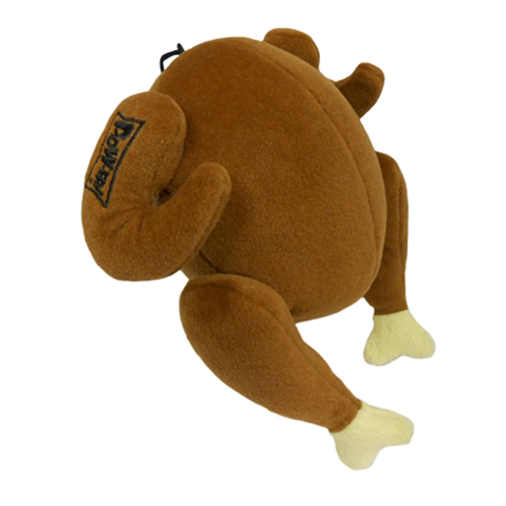 Power Plush Turkey Dog Toy