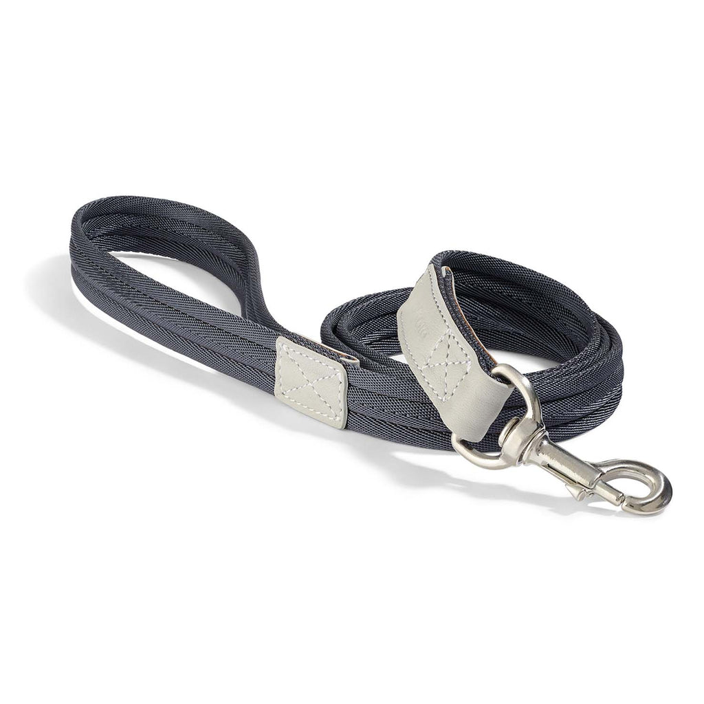 MiaCara Riva Dog Lead | Graphite Peargrey - FURRPLAY