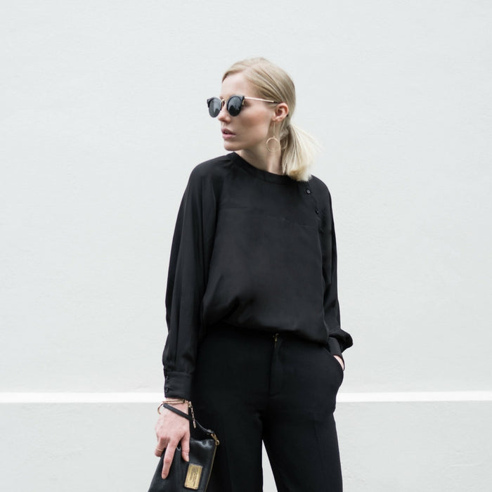 CLÈMENCE | Willow Silk Blouse