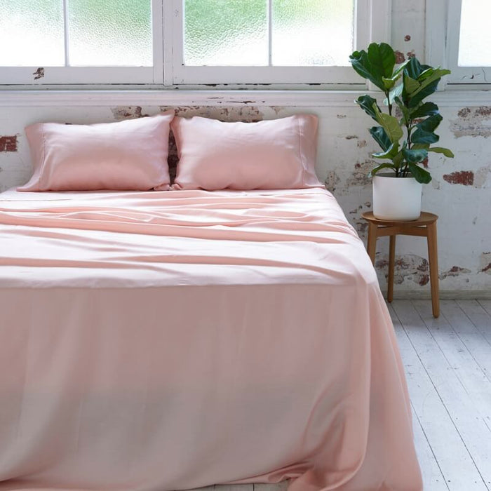 Ettitude | Bamboo Daydream Sheet Set | Cloud Pink