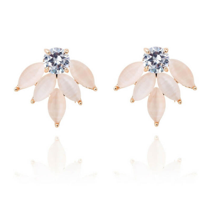 LADYFOX | Willow earrings | PALE PINK