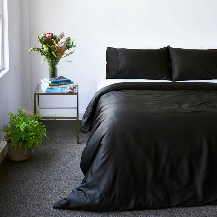 Ettitude | Bamboo Bondi Sheet Set | Pepper