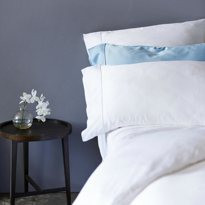 Ettitude | Bamboo Daydream Duvet Cover Set | Feather White