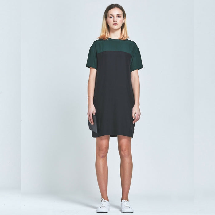 CLÈMENCE |  Silk Ange Oversized T-shirt Dress