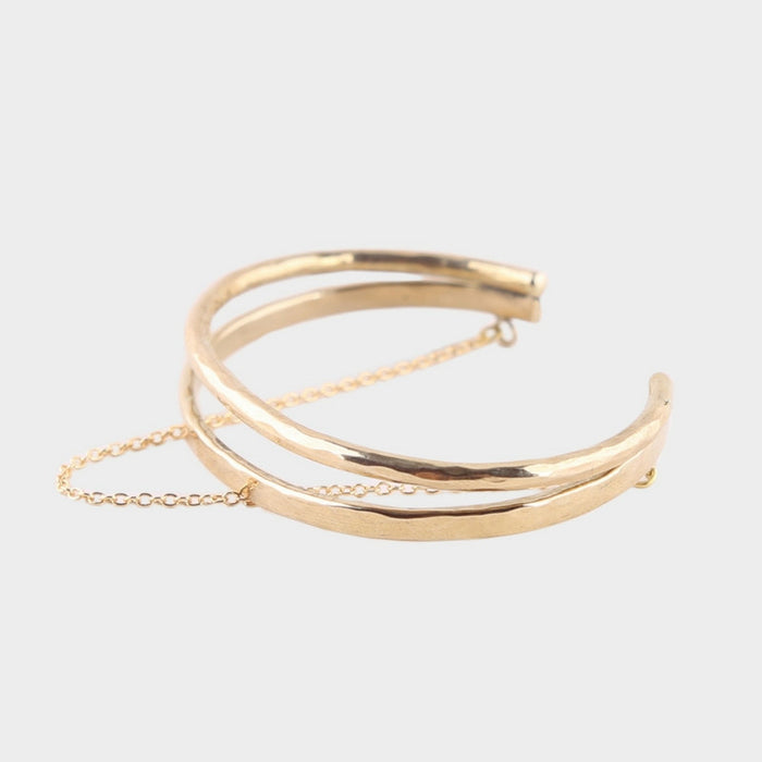 Soko | double delicate chain bangle