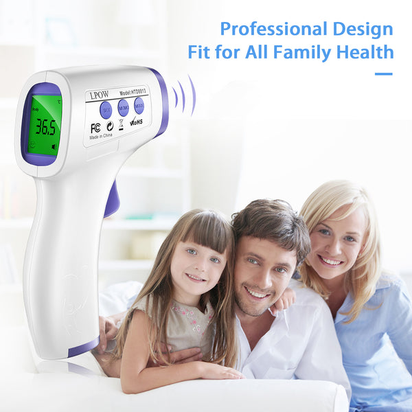 Body Thermometer and Surface Thermometer 2 in 1 Dual Mode Thermometer The Non Contact Infrared Thermometer for Fever Forehead Thermometer for Adults