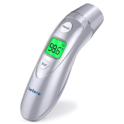 Metene Medical Forehead and Ear Thermometer,Infrared Digital Thermometer Suitable For Baby, Infant, Toddler and Adults with FDA and CE approved - ankovo.com