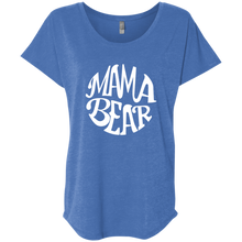 Mama Bear  Ladies' Triblend Dolman Sleeve