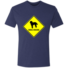 Doodle Crossing Triblend T-Shirt