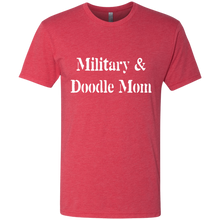 Military & Doodle Mom Triblend T-Shirt