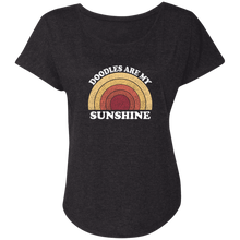 Doodles are my Sunshine Triblend Dolman Sleeve