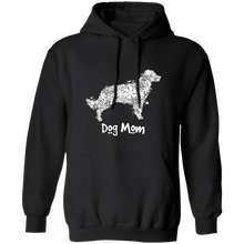 Dog Mom Flower Pullover Hoodie 8 oz.