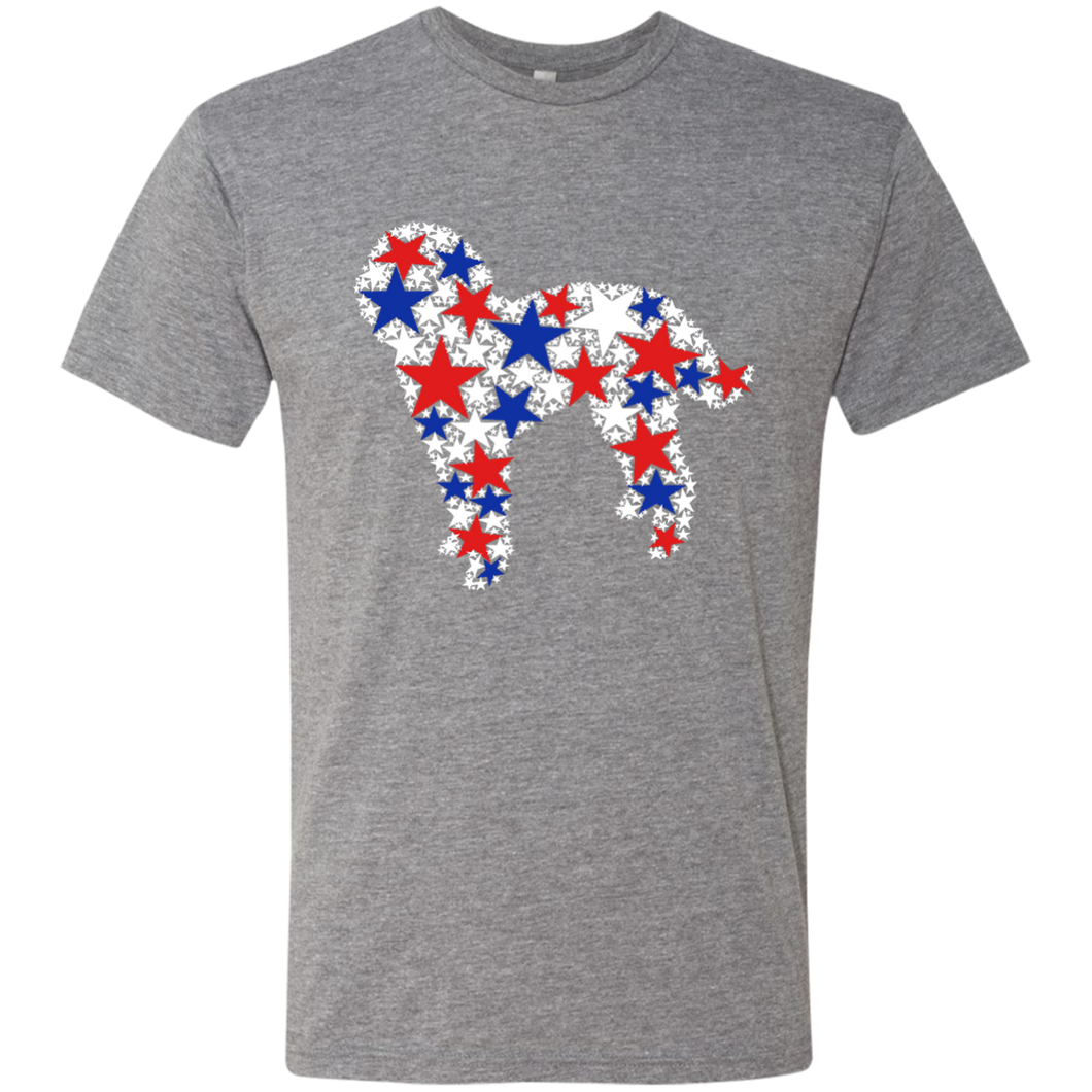 Doodle on 4th of July Triblend T-Shirt