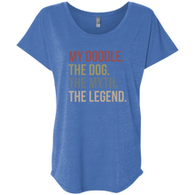 My Doodle The Legend Ladies' Triblend Dolman Sleeve