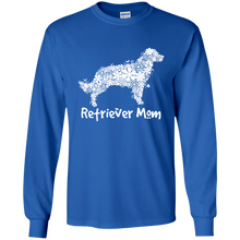 Retriever Flower Mom LS Ultra Cotton T-Shirt