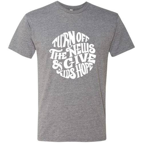 Turn off the News Triblend T-Shirt