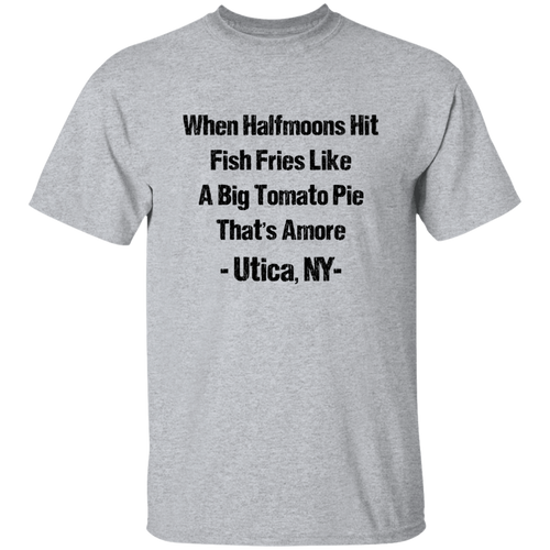 Utica tomato pie shirt