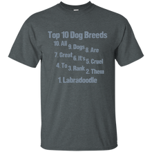 Labradoodle Breed Cotton T-Shirt