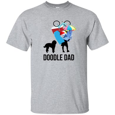 Doodle Dad Carrying Stuff Ultra Cotton T-Shirt