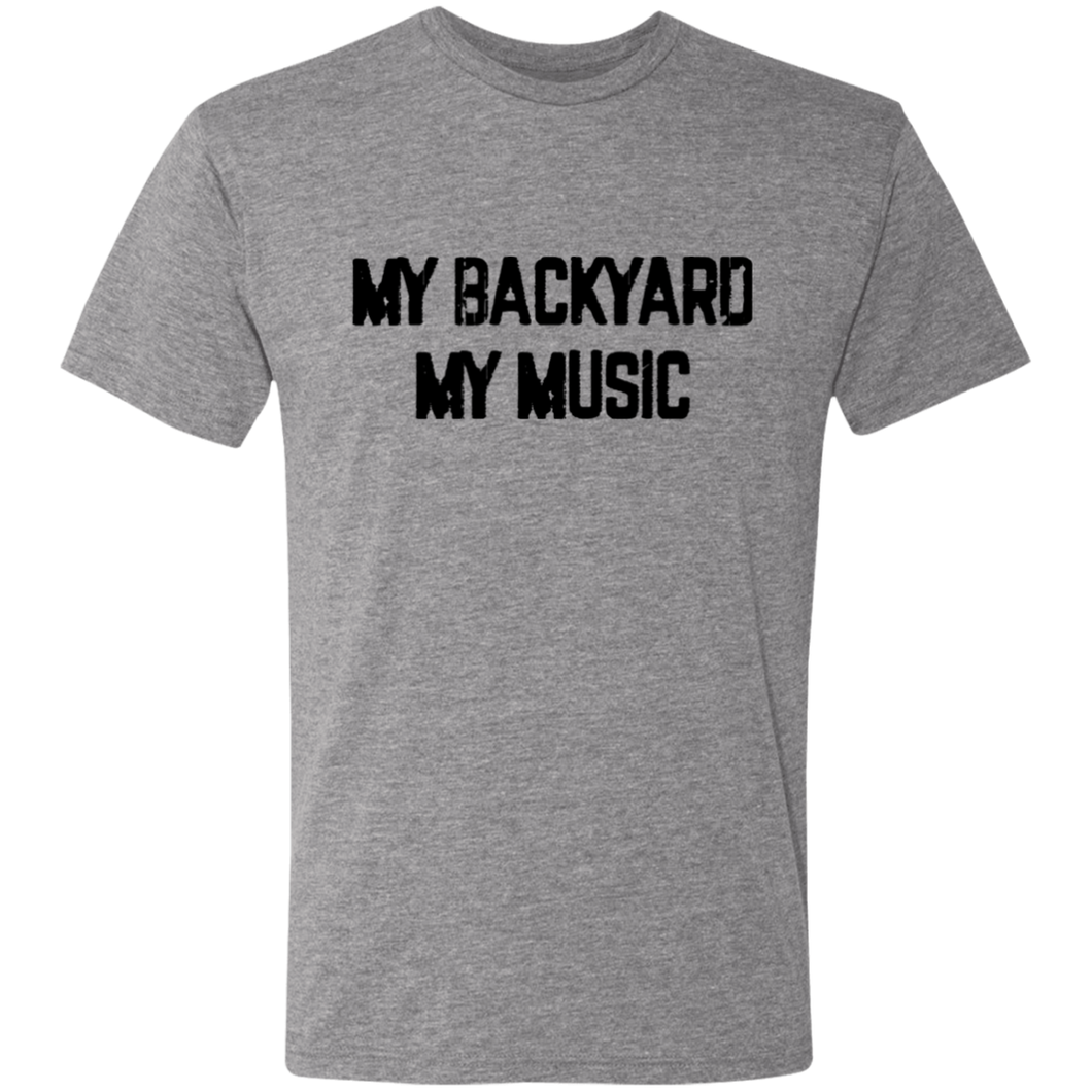 My Backyard My Music Triblend T-Shirt