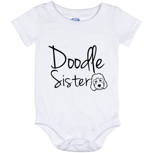 Doodle Sister Baby Onesie 12 Month