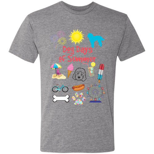 DOG Days of Summer Triblend T-Shirt