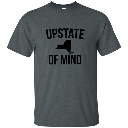 Upstate NY State of Mind Cotton T-Shirt