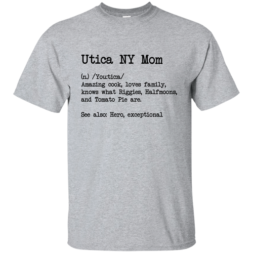 Utica Mom Cotton T-Shirt