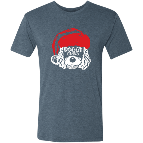 Doggy Claus Triblend T-Shirt