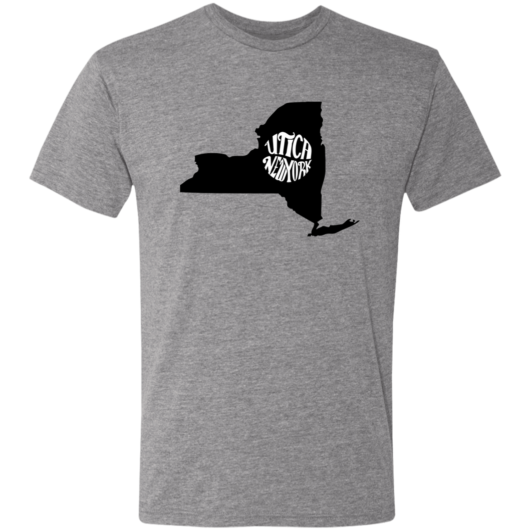 Utica NY State Triblend T-Shirt