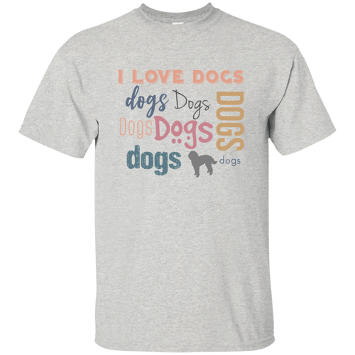 I Love Dogs (Basic T-Shirt)